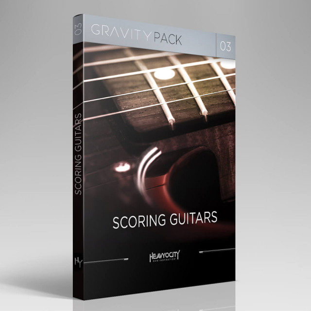 HEAVYOCITY/GRAVITY PACK 03 - SCORING GUITARS【オンライン納品】