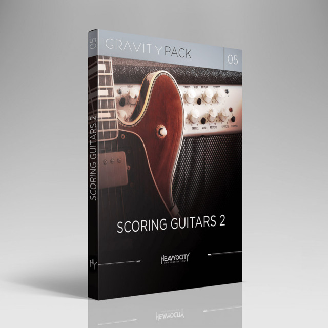 HEAVYOCITY/GRAVITY PACK 05 - SCORING GUITARS 2【オンライン納品】