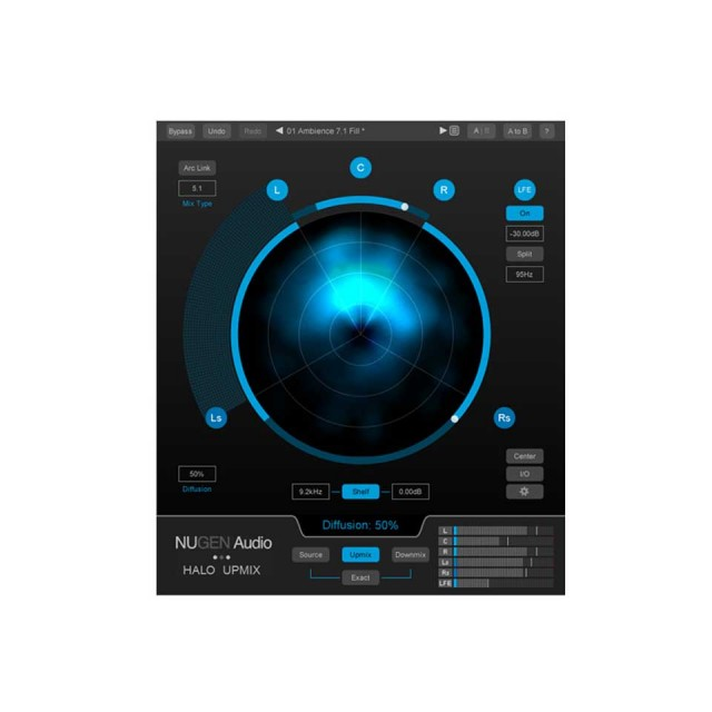Nugen Audio/Halo Upmix【オンライン納品】