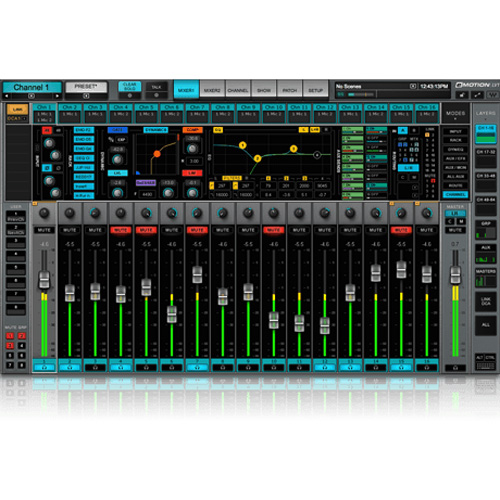Waves Live/eMotion LV1 Live Mixer  32 Stereo Channels