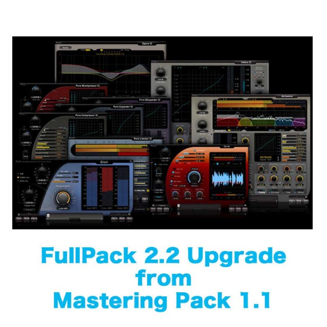 Flux::/FullPack 2.2 Upgrade from Mastering Pack 1.1【オンライン納品】