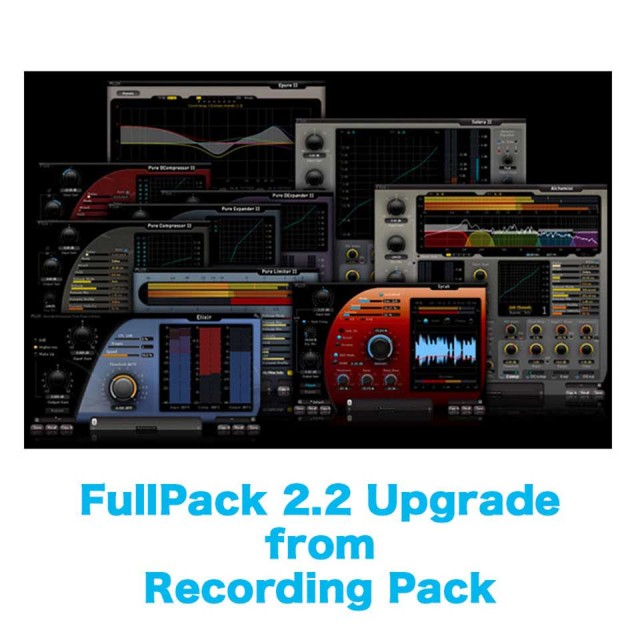 Flux::/FullPack 2.2 Upgrade from Recording Pack【オンライン納品】