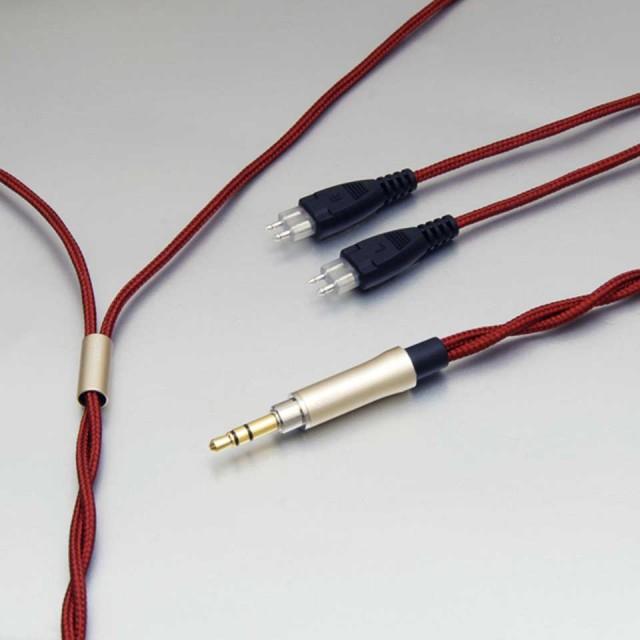 onso/hpct_03 ヘッドホンケーブル 3.5mmステレオ-2pin(x2) 1.2m【HPCT_03_UB3P_120】