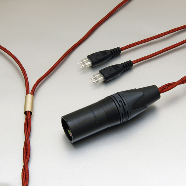 onso/hpct_03 ヘッドホンケーブル 4ピンXLR-2pin(x2) 1.2m【HPCT_03_BLXP_300】