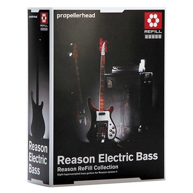 Propellerhead/Reason Electric Bass Refill