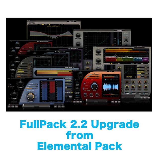 Flux::/FullPack 2.2 Upgrade from Elemental Pack【オンライン納品】
