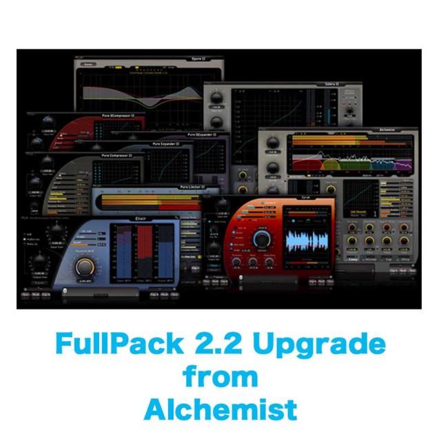Flux::/FullPack 2.2 Upgrade from Alchemist【オンライン納品】