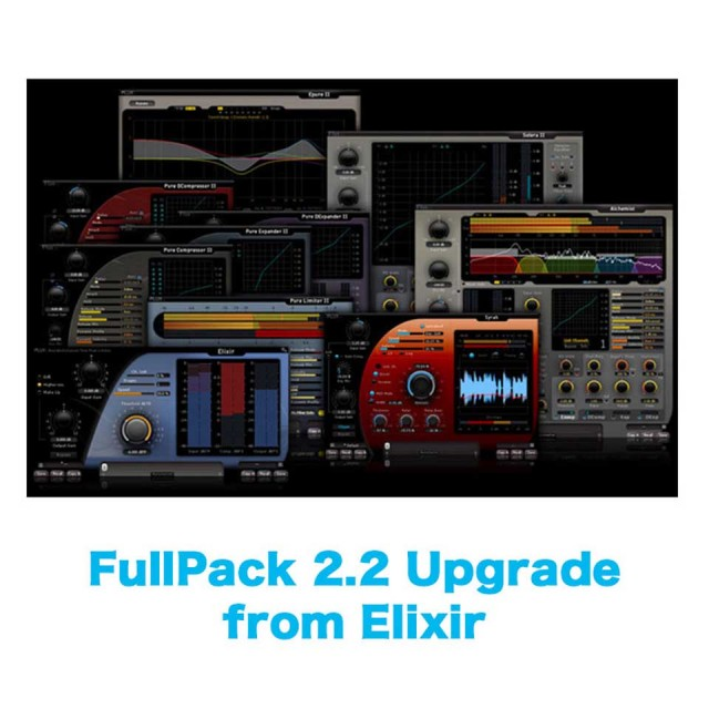 Flux::/FullPack 2.2 Upgrade from Elixir【オンライン納品】