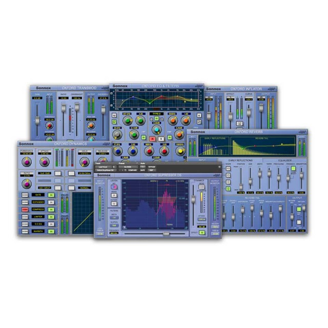 Sonnox/Live HD-HDX (6 Oxford Plug-ins)【オンライン納品】