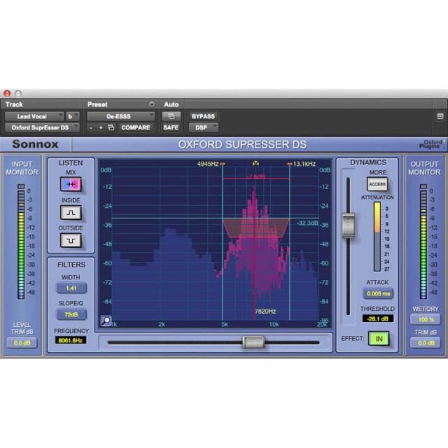 Sonnox/Oxford SuprEsser DS (HDX)【オンライン納品】