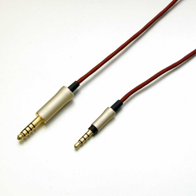 onso/hpcs_03_bl43s 4.4mm 5極プラグ - 3.5mm 4極プラグ 1.2m【HPCS_03_BL43S_120】