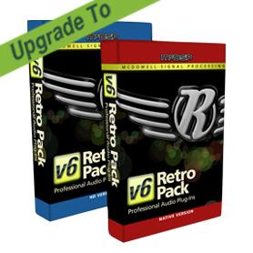 McDSP/Retro Pack Native v4 to Retro Pack Native v6【オンライン納品】