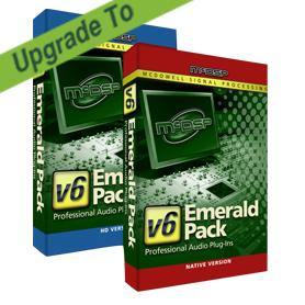McDSP/Emerald Pack Native v2 to v6【オンライン納品】