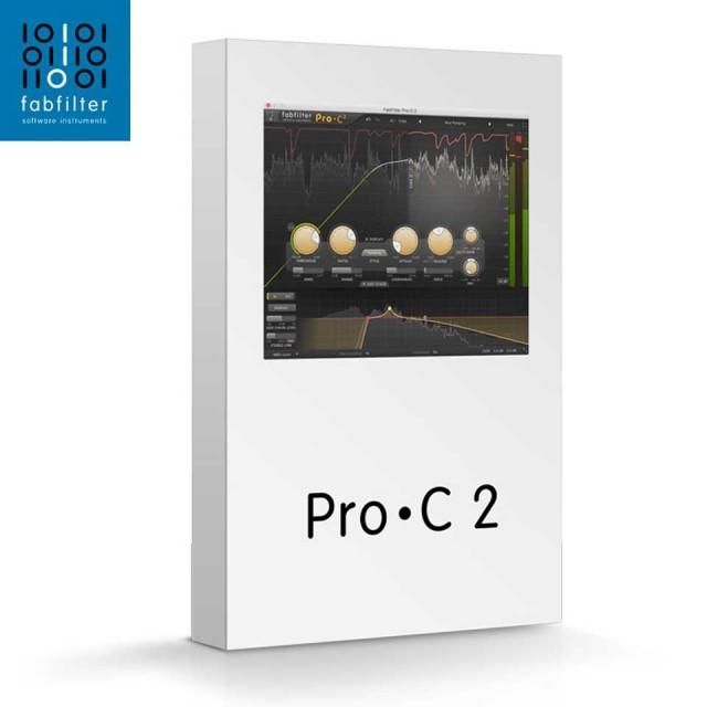FabFilter/FabFilter Pro-C 2【オンライン納品】