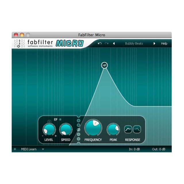 FabFilter/FabFilter Micro【オンライン納品】
