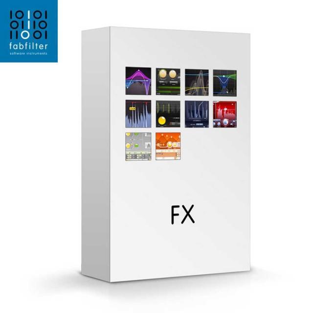 FabFilter/FX Bundle【オンライン納品】