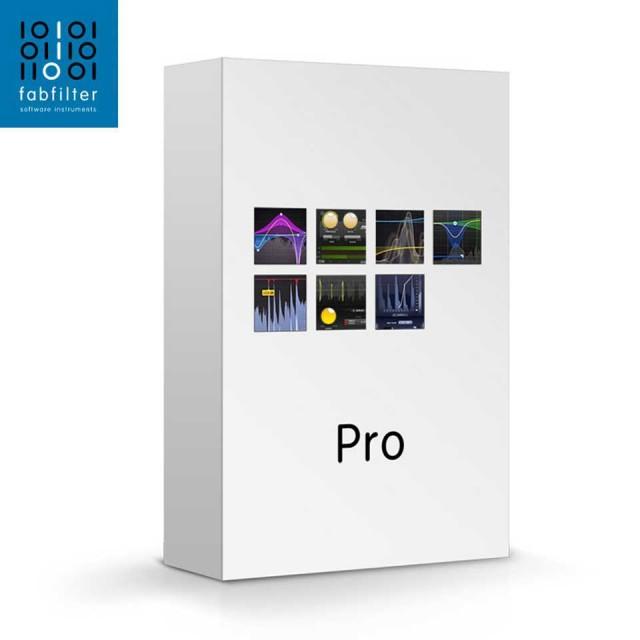 FabFilter/Pro Bundle【オンライン納品】