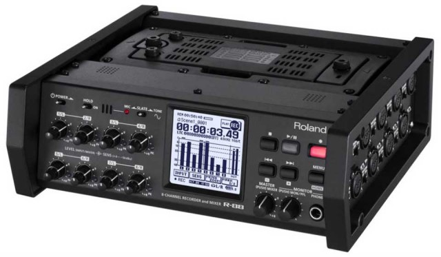 Roland/R-88 8-CHANNEL RECORDER & MIXER【お取り寄せ商品】