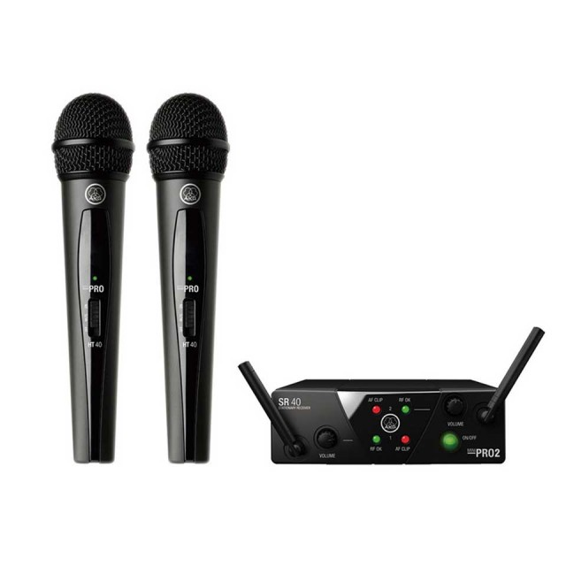 AKG/WMS40 PRO MINI2 VOCAL SET DUAL【在庫あり】
