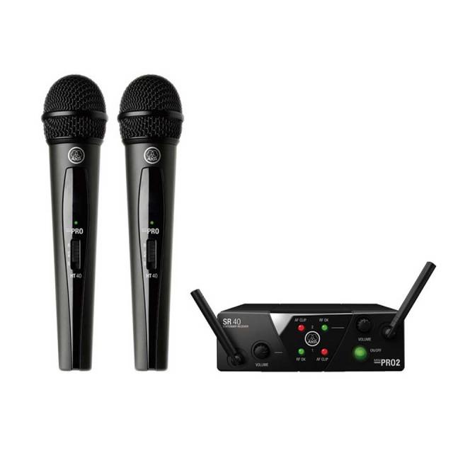 AKG/WMS40 PRO MINI2 VOCAL SET DUAL