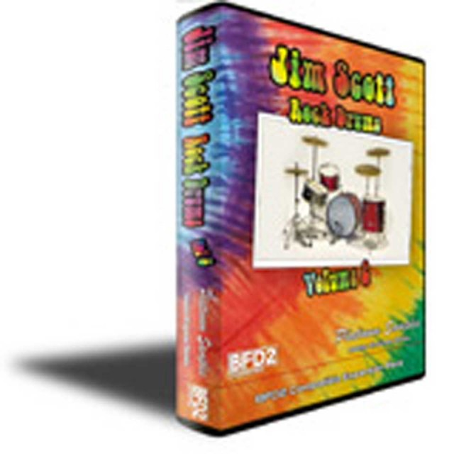 Platinum Samples / Jim Scott Rock Drums Vol 2 for BFD