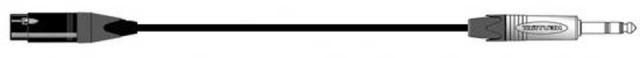 Belden/8412 XLRF-TRS 1m マイクケーブル