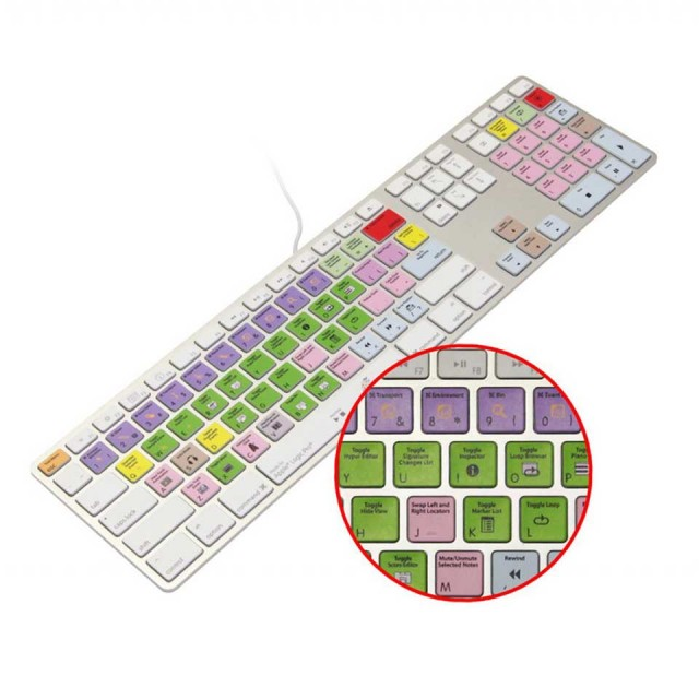 KB Covers KB Keyboard/for Logic Pro/Express/US【KBKYBD-LOG-AK】【US配列】【在庫処分特価】