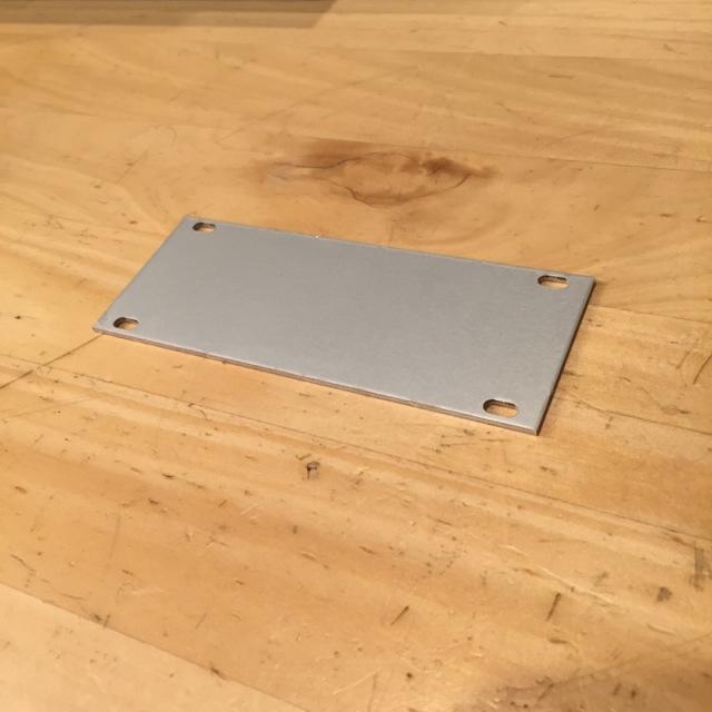 Intellijel/Blank Panel 1U x20HP【在庫あり】