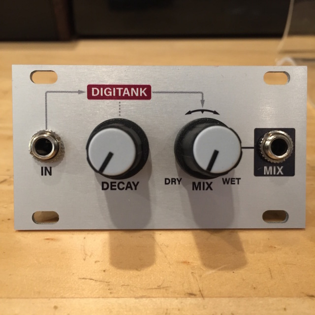 Intellijel/Digiverb 1U【在庫あり】