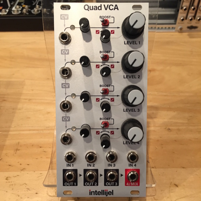 Intellijel/Quad VCA【在庫あり】