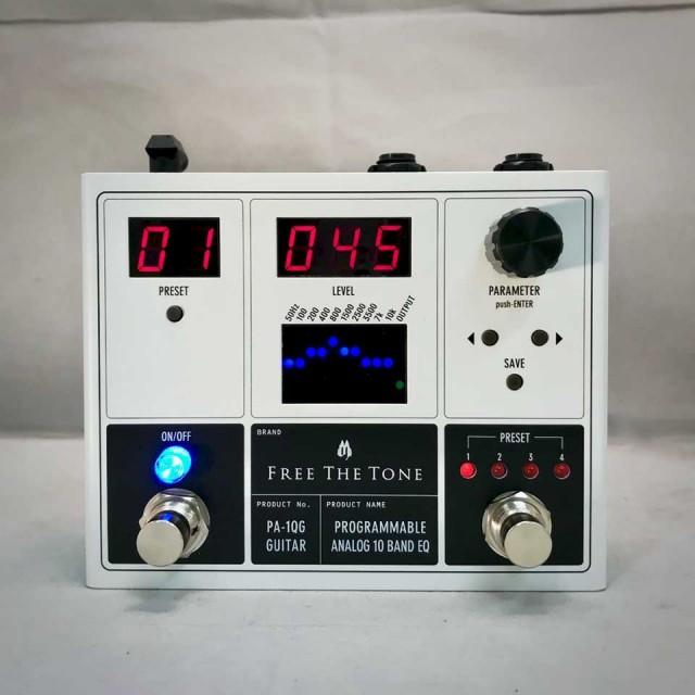 Free The Tone/PA-1QG PROGRAMMABLE ANALOG 10 BAND EQ