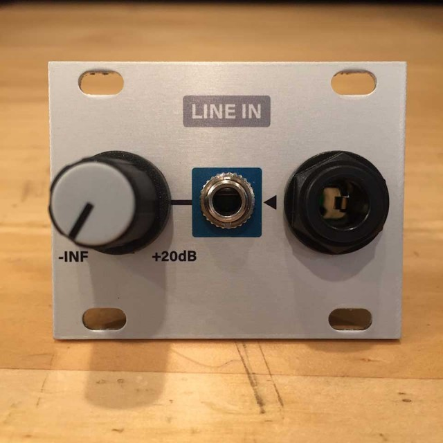 Intellijel/Line In 1U【在庫あり】
