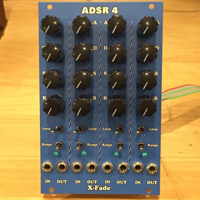 X-Fade Modular/ADSR 4【在庫あり】【X-Fade SALE】【HALLOWEEN 特価】