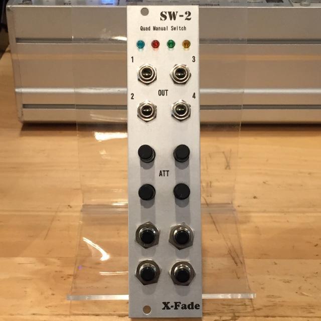 X-Fade Modular/SW-2【在庫あり】【X-Fade SALE】【HALLOWEEN 特価】