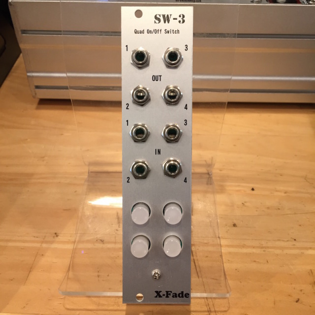 X-Fade Modular/SW-3 Red【在庫あり】【X-Fade SALE】【HALLOWEEN 特価】