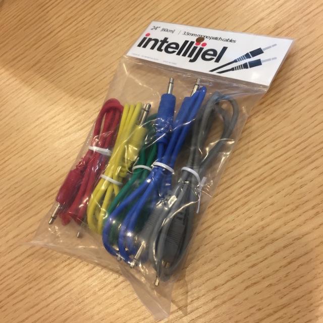 Intellijel/3.5mm MonoPatchCable 5本パック 60cm【在庫あり】