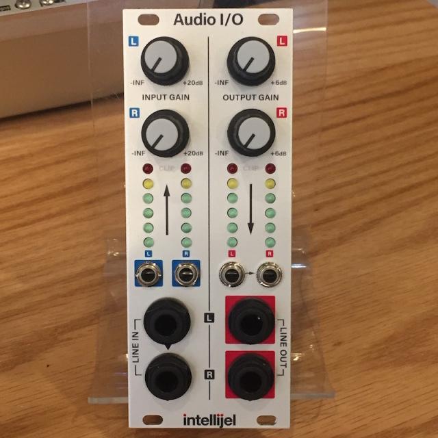 Intellijel/Audio I/O 3U【在庫あり】
