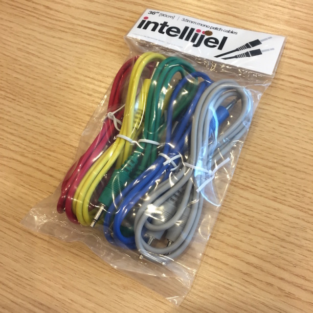 Intellijel/3.5mm MonoPatchCable 5本パック 90cm【在庫あり】
