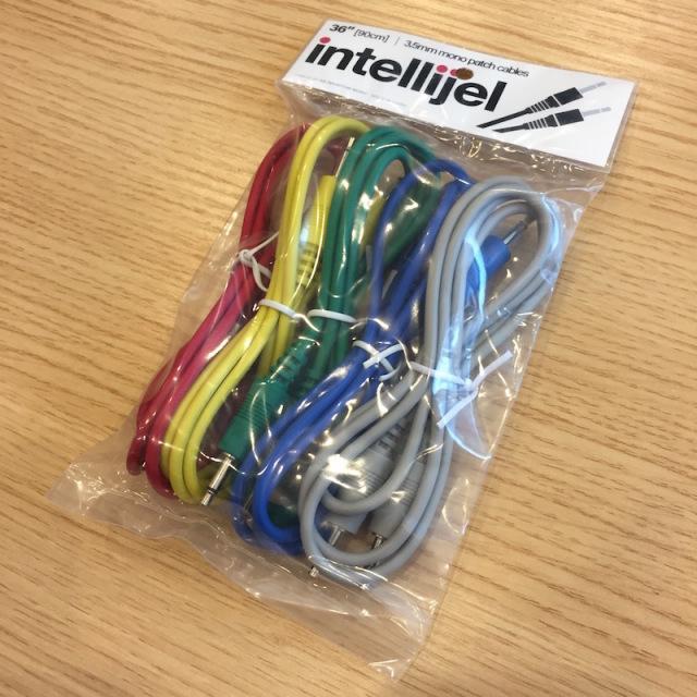 Intellijel/3.5mm MonoPatchCable 5本パック 90cm【在庫あり】