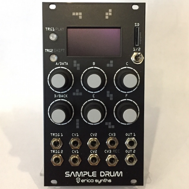 Erica Synths/Sample Drum【在庫あり】