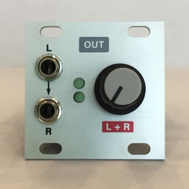 Intellijel/Stereo Line Out 1U