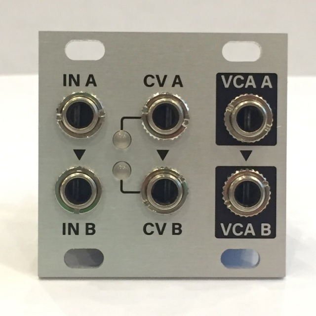 Intellijel/Dual VCA 1U【在庫あり】