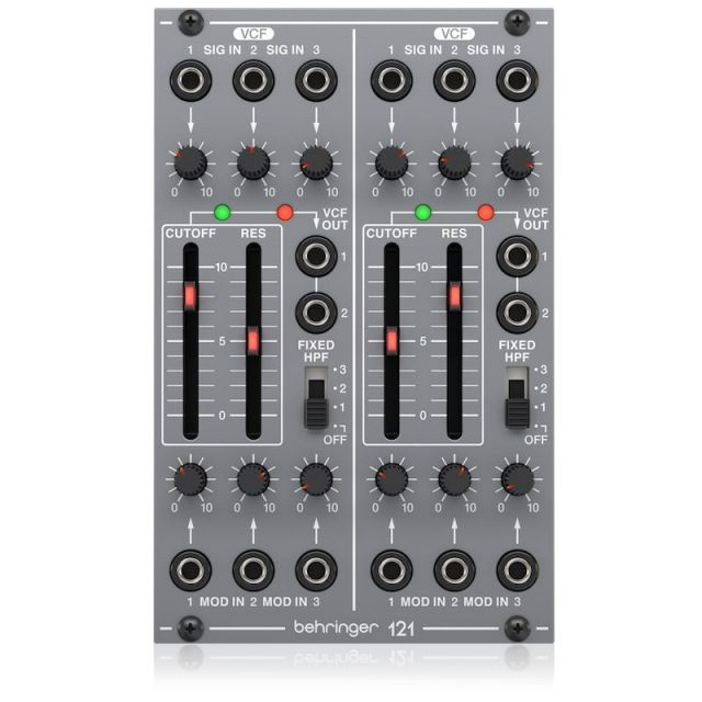 BEHRINGER/121 DUAL VCF【System 100 Series】【在庫あり】