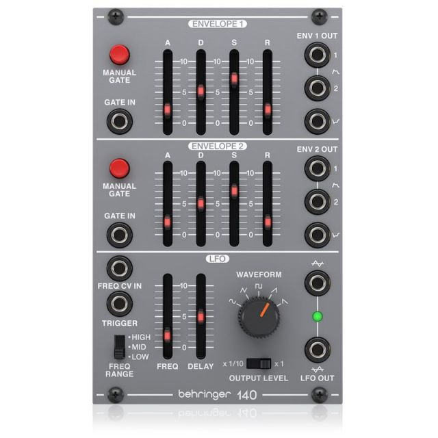BEHRINGER/140 DUAL ENVELOPE/LFO【System 100 Series】【お取り寄せ商品】