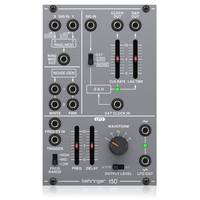 BEHRINGER/150 RING MOD/NOISE/S&H/LFO【System 100 Series】【お寄り寄せ商品】