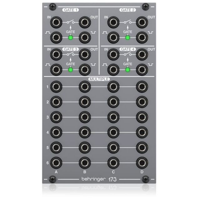 BEHRINGER/173 QUAD GATE/MULTIPLES【System 100 Series】【在庫あり】
