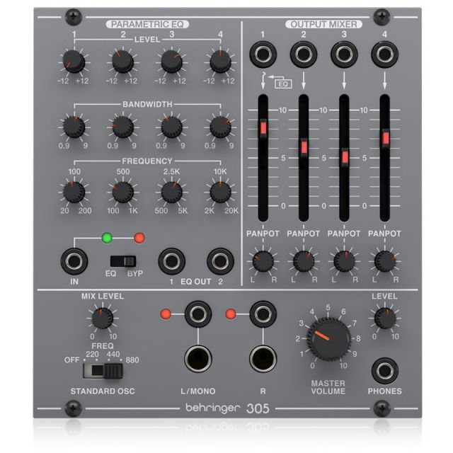 BEHRINGER/305 EQ/MIXER/OUTPUT【System 100 Series】【在庫あり】
