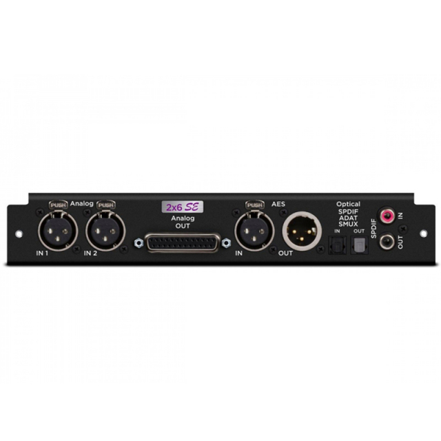 APOGEE/2 Analog Input + 6 Analog Output + 8X8 Optical + AES I/O + 2-ch SPDIF SE Quality Sound (SYM2 Only)【ご予約受付中】