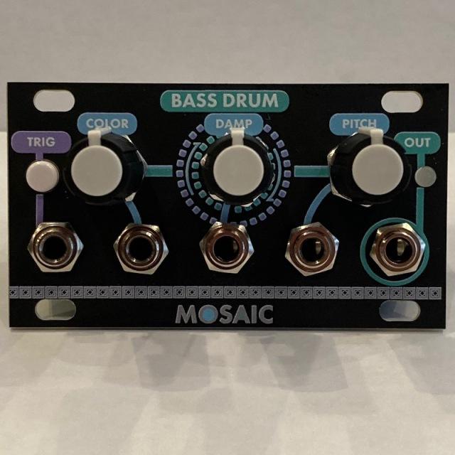 Mosaic/BASS DRUM【在庫あり】