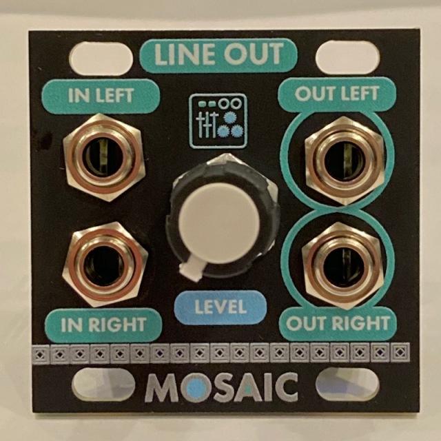 Mosaic/LINE OUT【在庫あり】